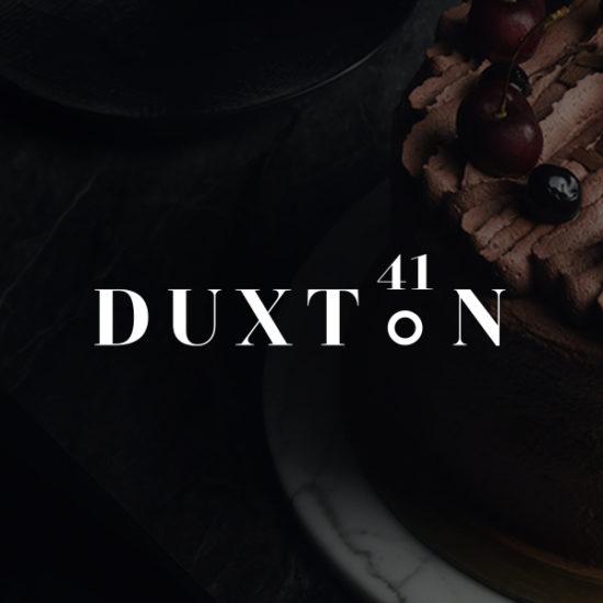 Duxton 41 logo design