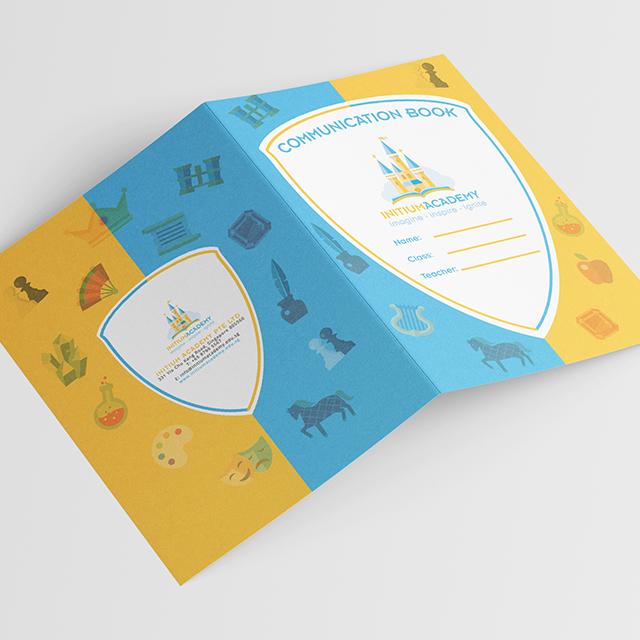 Initium academy progress book design
