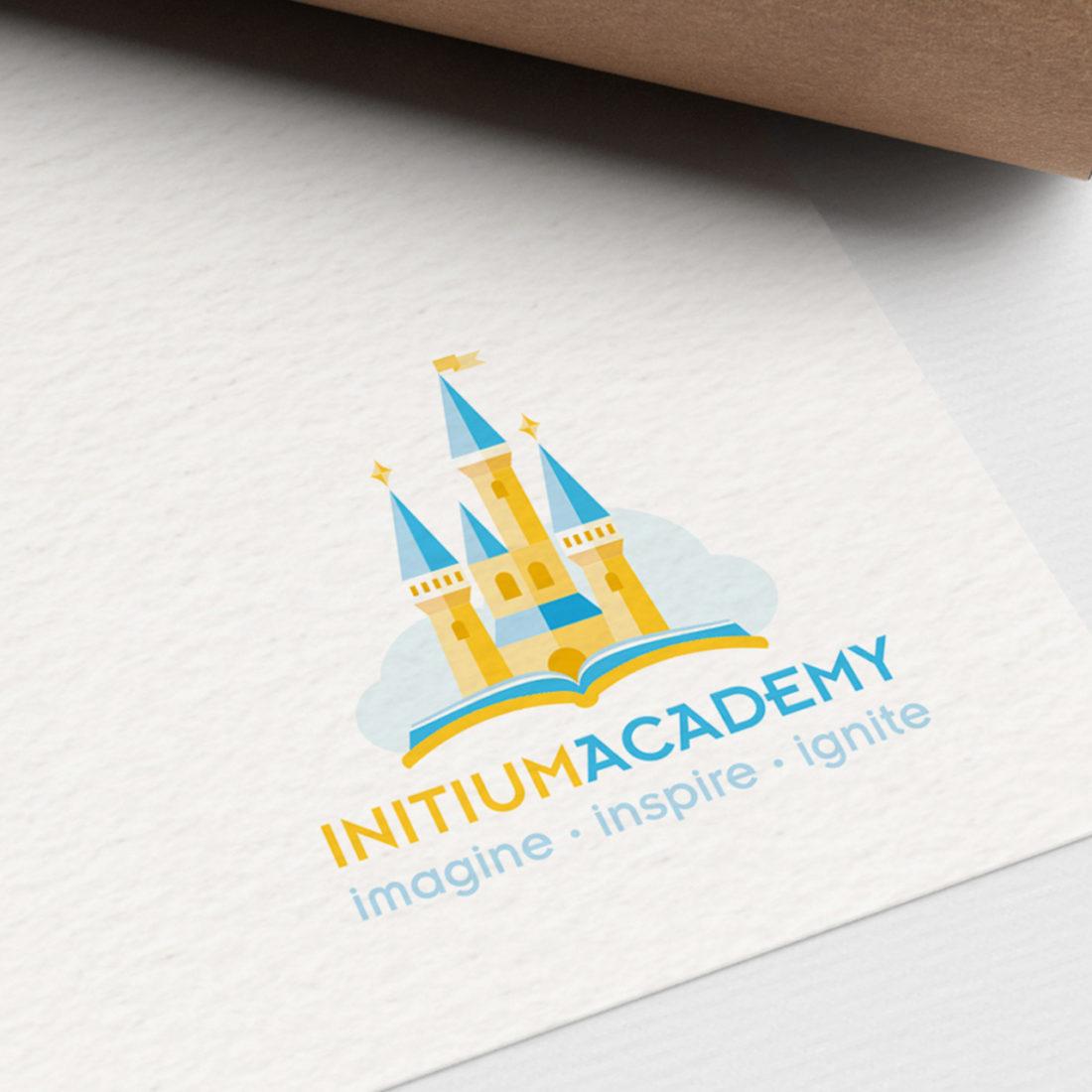 Initium Academy logo design brand strategy