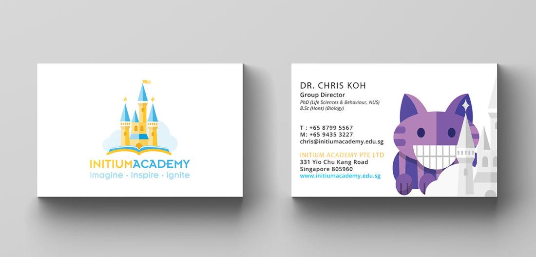 Initium name card design