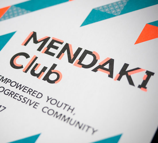 Mendaki Club Collateral Design