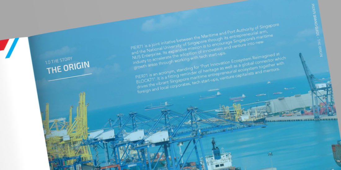 Pier71 corporate brochure copywriting