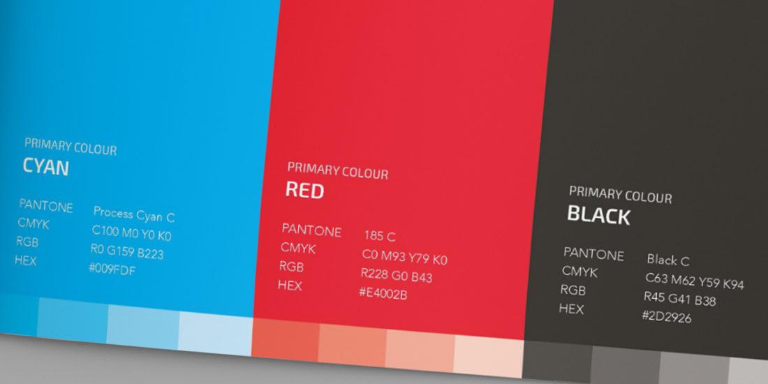 Pier71 corporate colours